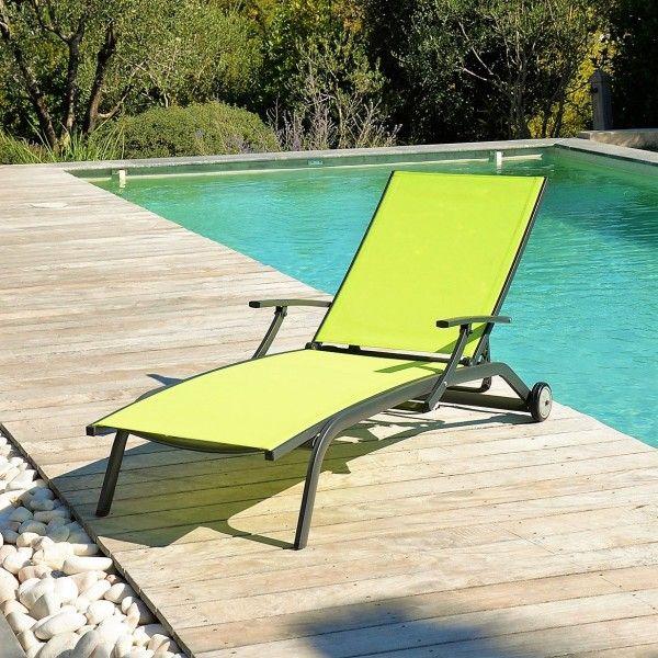 bain de soleil marbella anis - Transat Soleil