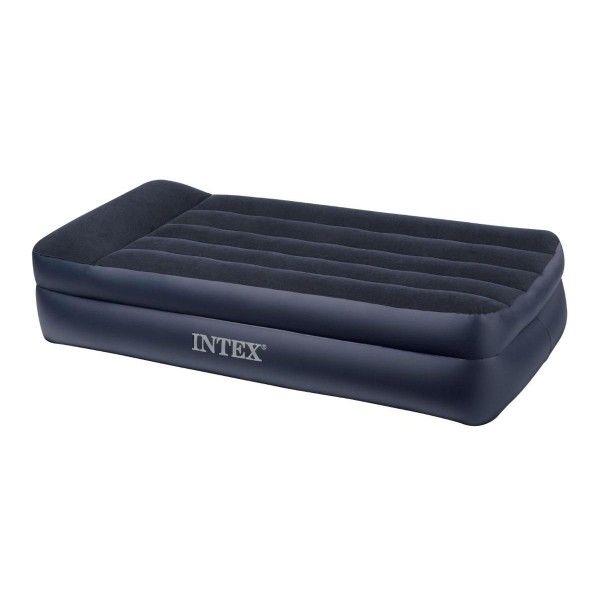 matelas gonflable lectrique rest bed 1 place intex. Black Bedroom Furniture Sets. Home Design Ideas
