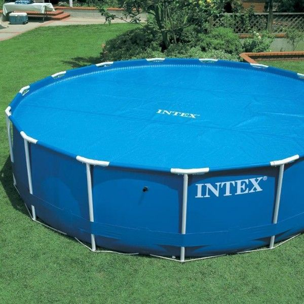 b che bulles pour piscine ronde 5 49 m intex. Black Bedroom Furniture Sets. Home Design Ideas