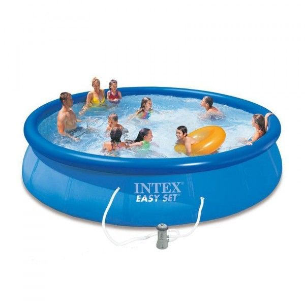 Piscine autostable Easy Set Ø 4,57 x H 0,84 m - Intex