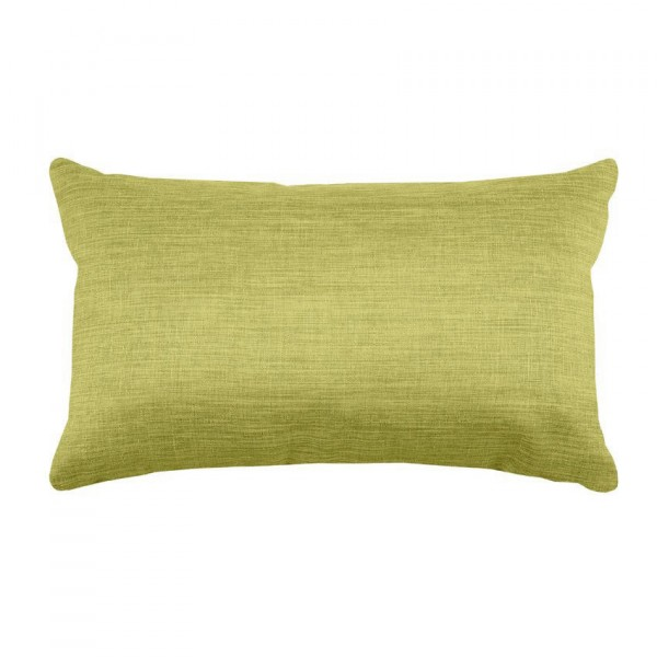 Coussin rectangulaire Béa Vert anis