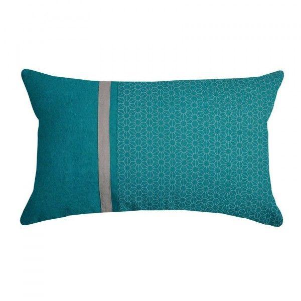 coussin et galette bleu eminza. Black Bedroom Furniture Sets. Home Design Ideas