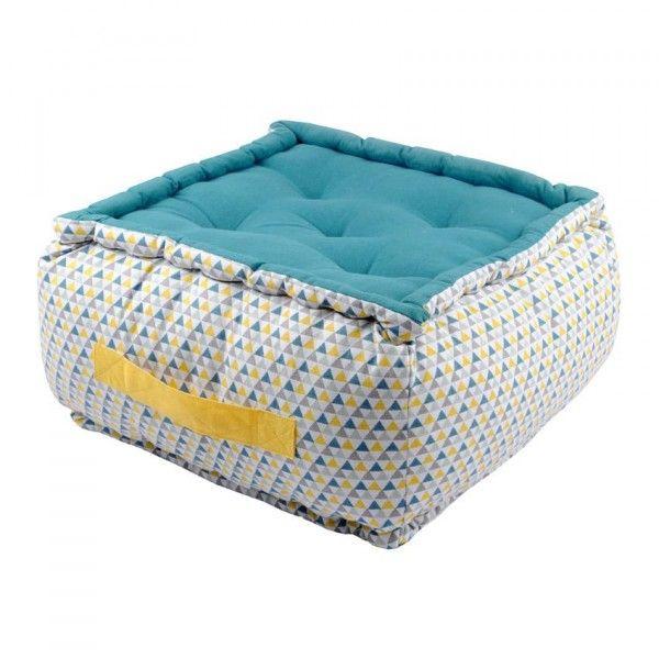 coussin de sol et pouf coussin et galette eminza. Black Bedroom Furniture Sets. Home Design Ideas