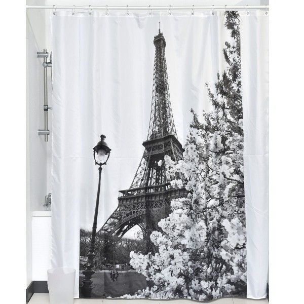 Rideau de douche (H 200 cm) Love City