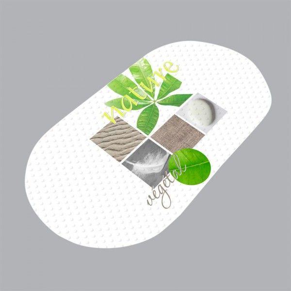 tapis de bain vert eminza. Black Bedroom Furniture Sets. Home Design Ideas