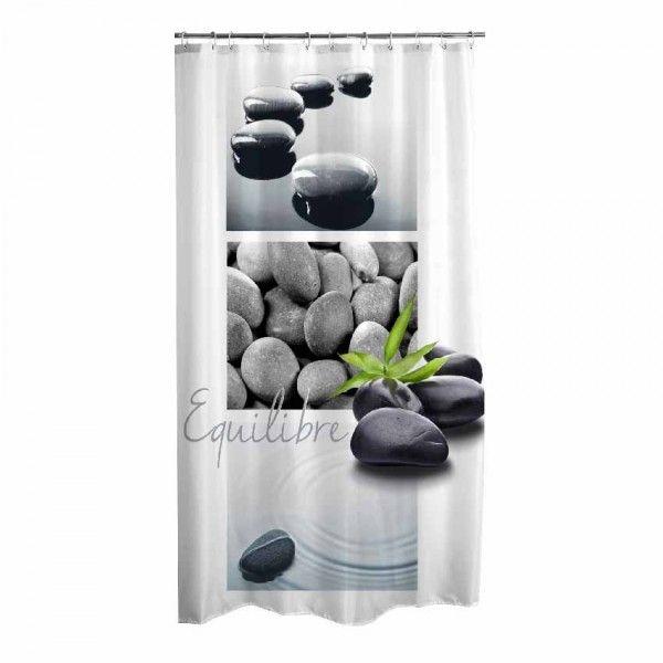 Rideau de douche (H 200 cm) Stone