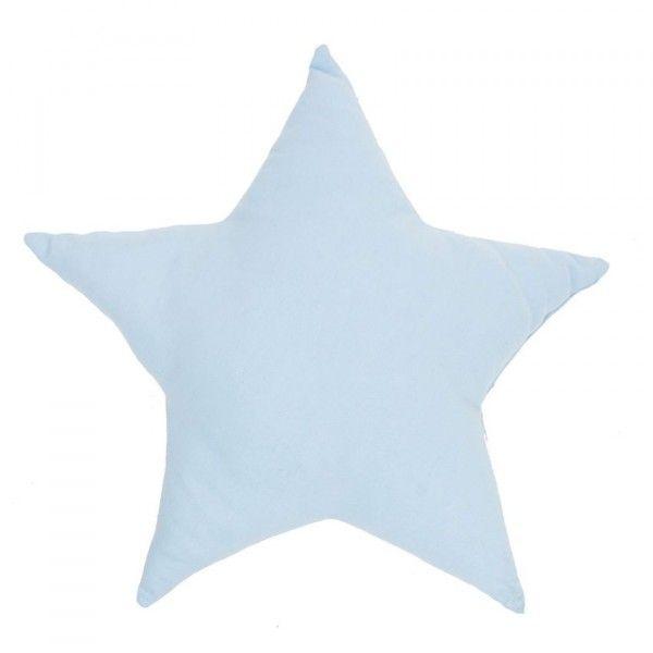 Coussin Etoile Bleu - Déco textile - Eminza