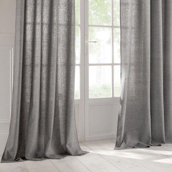 Rideau et voilage nouveaut s eminza - Double rideaux en lin ...