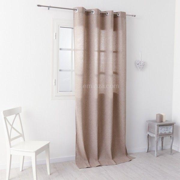 Rideau tamisant (140 x 260 cm) Joé Lin - Rideau / Voilage / Store ...