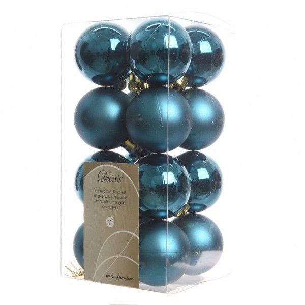 Decoration De Noel Bleu Petrol