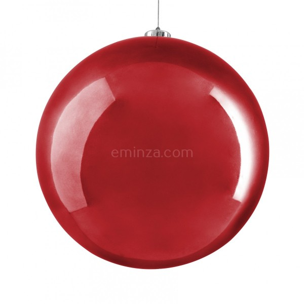 Boule de Noël (D250 mm) Alpine Rouge