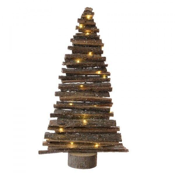 Weihnachtsdeko Für Baum.Led Baum Naturfarben 15 Leds