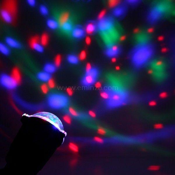 Decoration lumineuse eminza for Projecteur laser multicolore