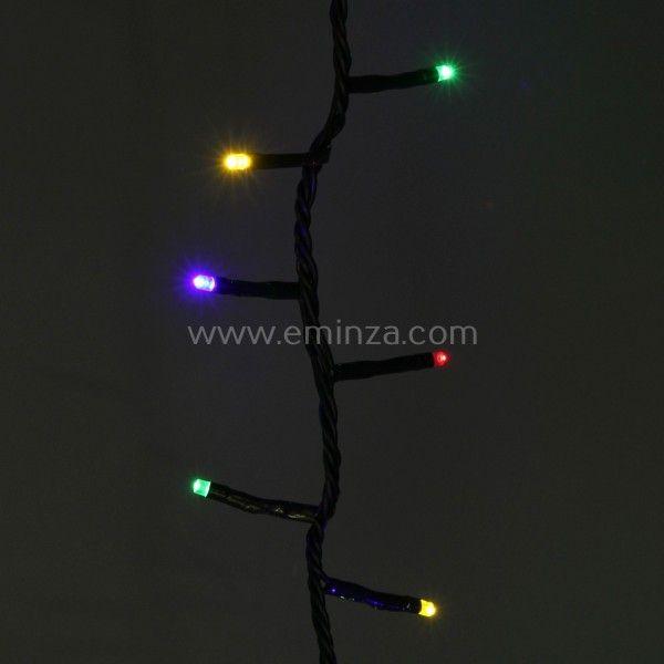 Baum Lichterkette Schnelles Anbringen 130 Mehrfarbig 400 Leds Cv