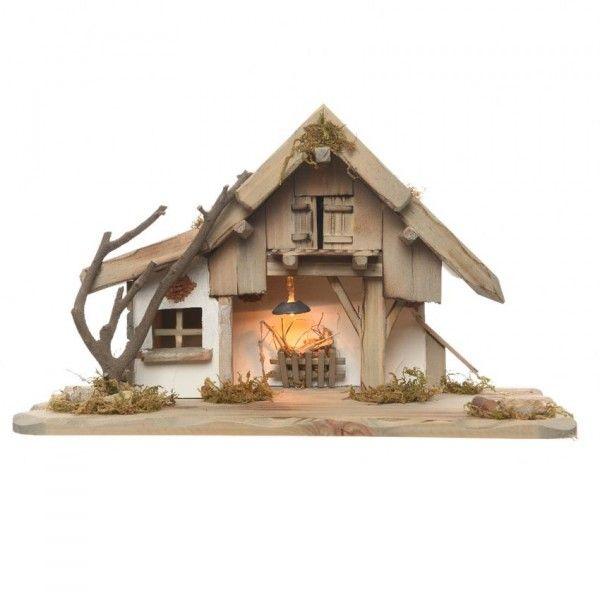 Creche De Noel Lumineuse Vide Saint Marie Creche Et Santon Eminza