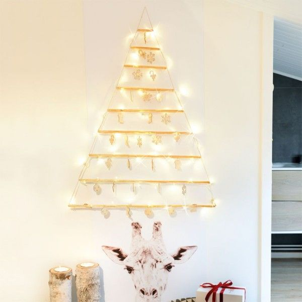 Arbre décoratif Blanc chaud 48 LED