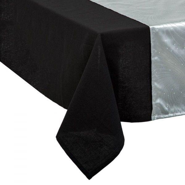 chemin de table design gris d coration de table eminza. Black Bedroom Furniture Sets. Home Design Ideas