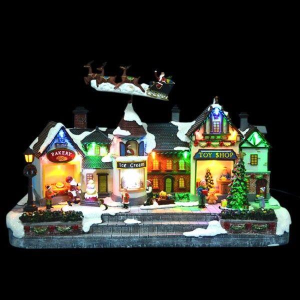 Beleuchtetes Weihnachtsdorf Ice-Cream - Weihnachtsdörfer - Eminza