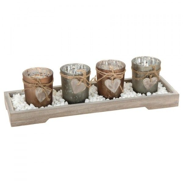d coration de table bougie photophore d coration de table eminza. Black Bedroom Furniture Sets. Home Design Ideas