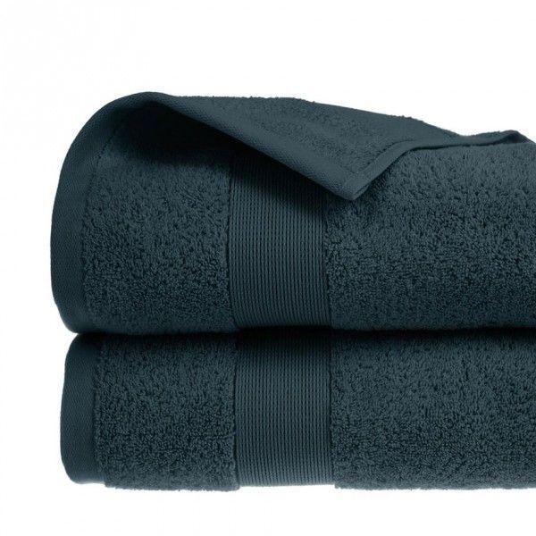 serviette de bain 100 x 150 cm vita bleu canard serviette de bain eminza. Black Bedroom Furniture Sets. Home Design Ideas