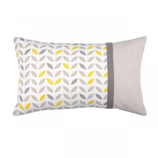 Coussin rectangulaire Pepa Gris