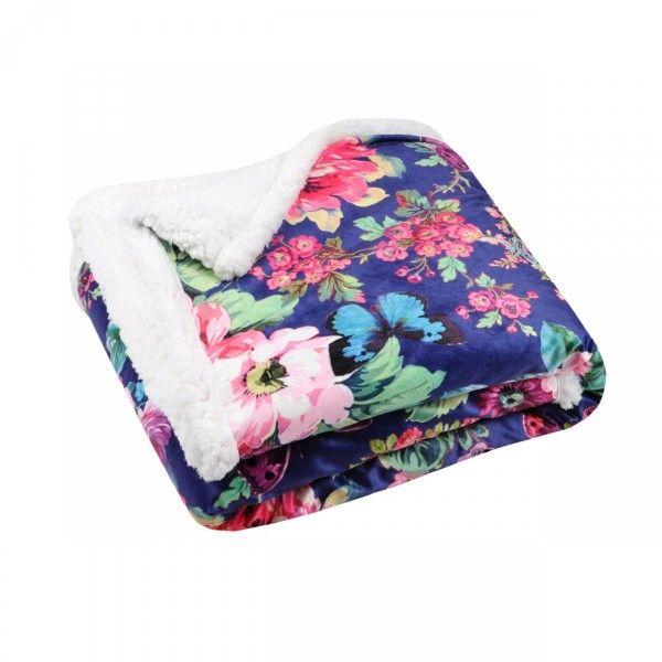 plaid doux 160 cm mylho multicolore plaid cocooning. Black Bedroom Furniture Sets. Home Design Ideas