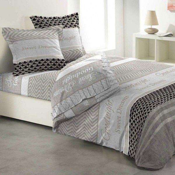 Parure de draps linge de lit eminza for Site de linge de lit