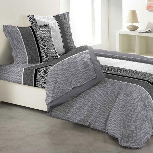 parure de draps largeur du lit 140 cm linge de lit eminza. Black Bedroom Furniture Sets. Home Design Ideas