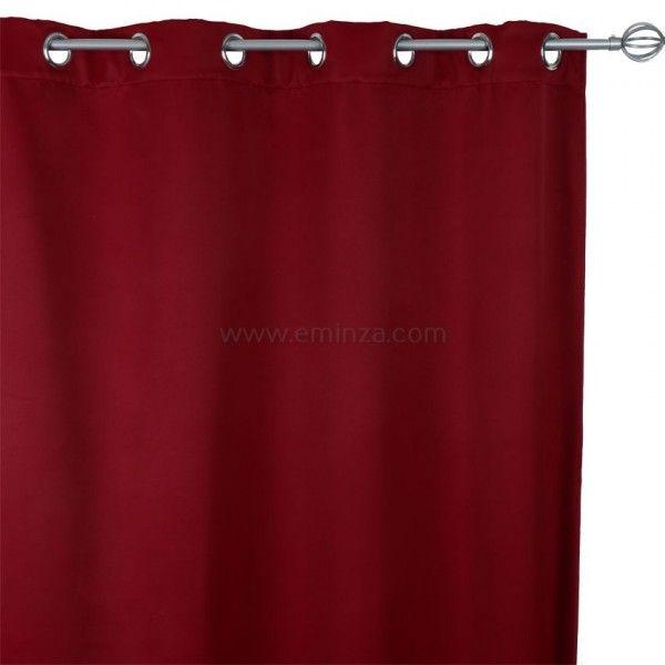 Rideau isolant rideau et voilage eminza - Rideau de porte isolant ...