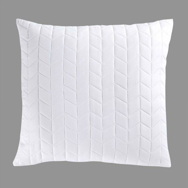 Coussin et galette blanc eminza for Eminza magasin