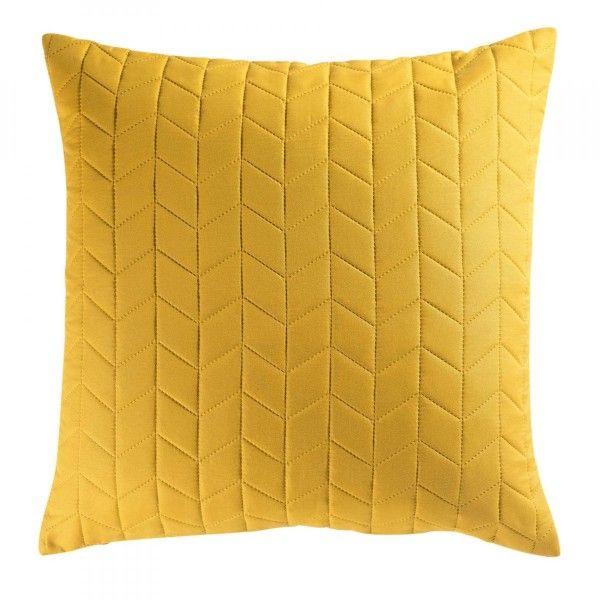 housse de coussin 60 cm erika jaune miel coussin et housse de coussin eminza. Black Bedroom Furniture Sets. Home Design Ideas