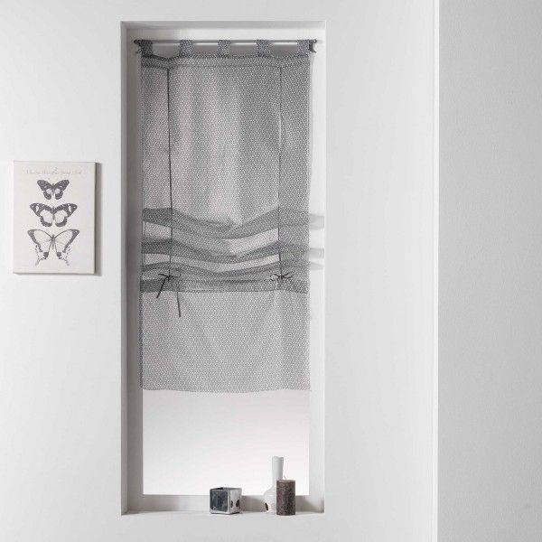 store voilage largeur 90 cm store int rieur eminza. Black Bedroom Furniture Sets. Home Design Ideas