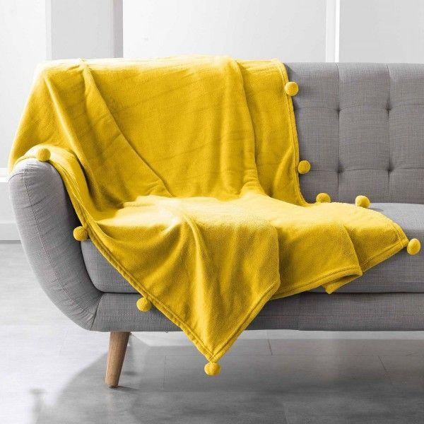 plaid cocooning plaid et jet eminza. Black Bedroom Furniture Sets. Home Design Ideas