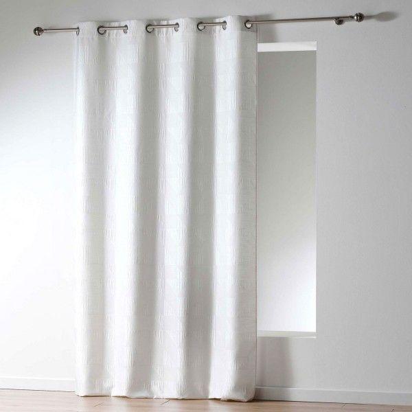 Rideau tamisant (140 x 260 cm) Victoria Blanc - Rideau / Voilage ...