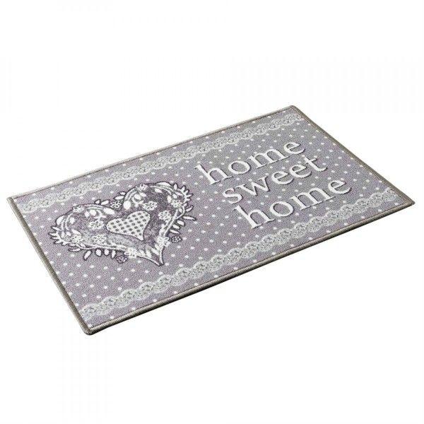 tapis d 39 entr e 120 cm home love gris tapis eminza. Black Bedroom Furniture Sets. Home Design Ideas
