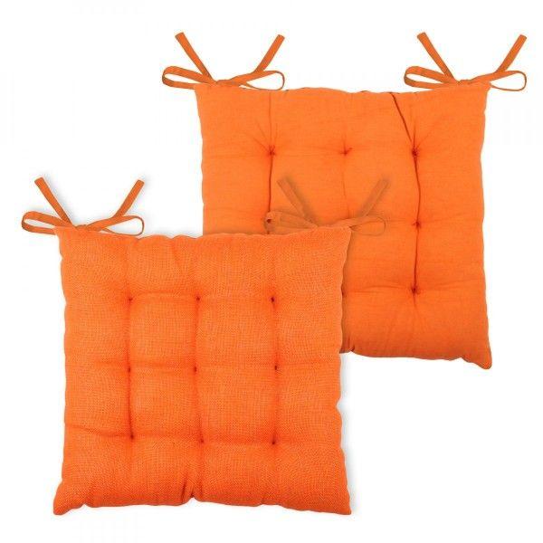 galette et coussin de chaise carr e coussin et galette 3 eminza. Black Bedroom Furniture Sets. Home Design Ideas