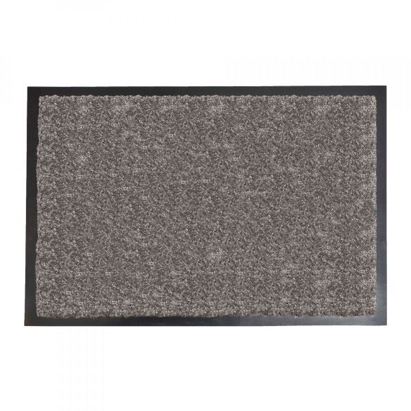 tapis d 39 entr e 60cm baptiste taupe tapis eminza. Black Bedroom Furniture Sets. Home Design Ideas