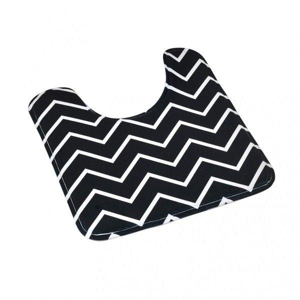 excellent tapis contour wc black and white noir with tapis contour wc. Black Bedroom Furniture Sets. Home Design Ideas