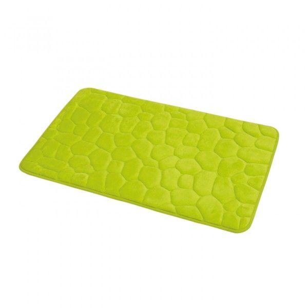 tapis m moire de forme galet vert anis tapis eminza. Black Bedroom Furniture Sets. Home Design Ideas