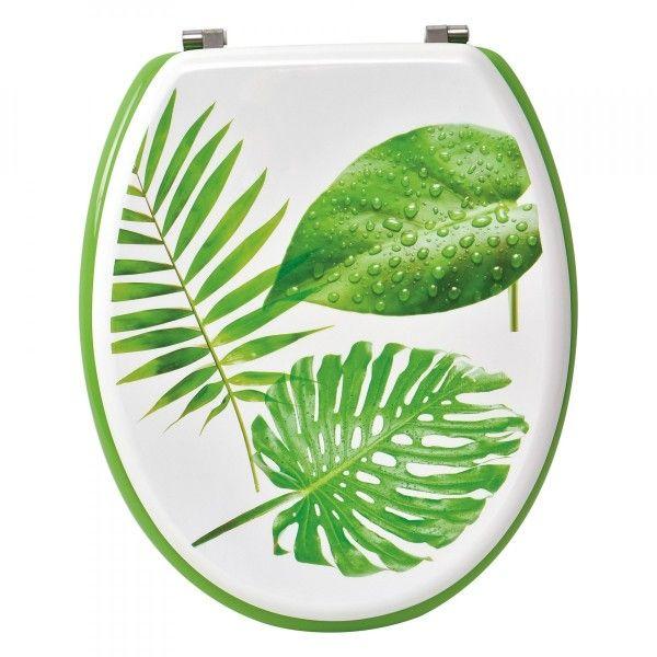 Abattant Wc Paradis Tropical Vert
