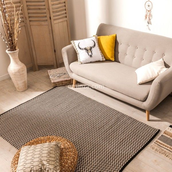 imagesproduct6000584058444tapis coton - Tapis Beige