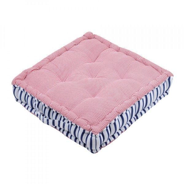 coussin de sol et pouf rouge coussin et galette eminza. Black Bedroom Furniture Sets. Home Design Ideas