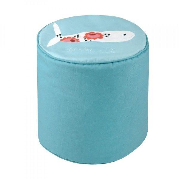 pouf rond 30 cm nema canap et fauteuil eminza. Black Bedroom Furniture Sets. Home Design Ideas