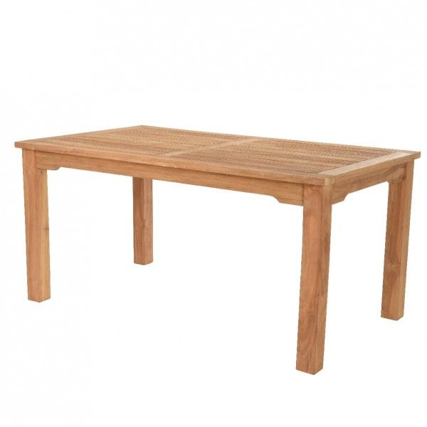 Table de jardin Teck Ibiza (160 x 90 cm) - Naturel
