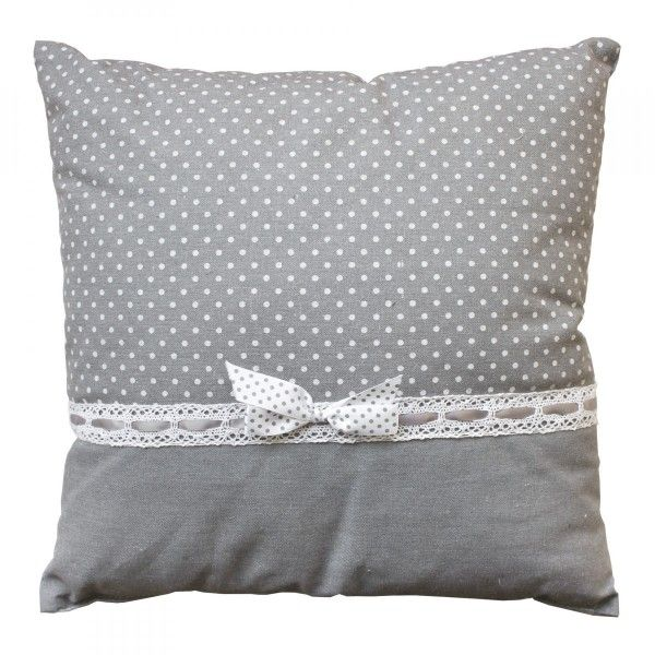 Coussin (40 cm) Charmy Gris