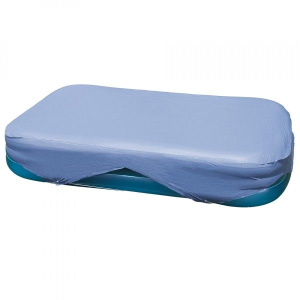 Bâche pour piscine gonflable rectangulaire (L3,05 x l1,83 m) - Intex