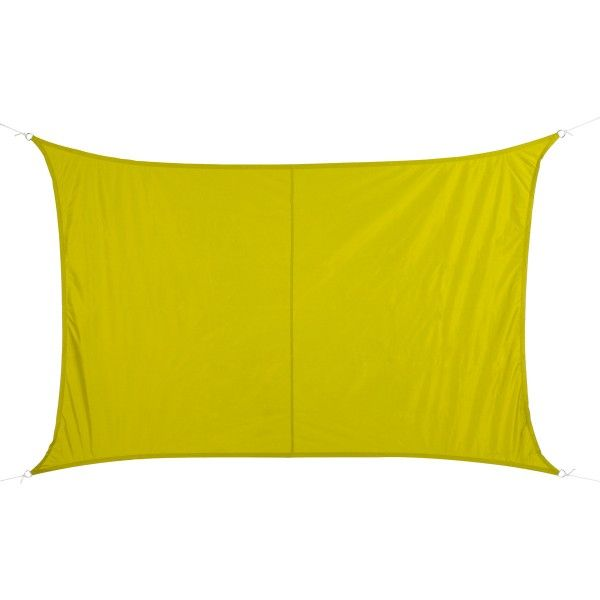 Voile d'ombrage Rectangulaire (2 x 3m) Curacao - Vert anis