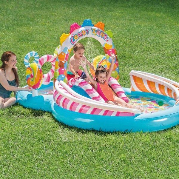 aire de jeux gonflables bonbons intex piscine spa et. Black Bedroom Furniture Sets. Home Design Ideas