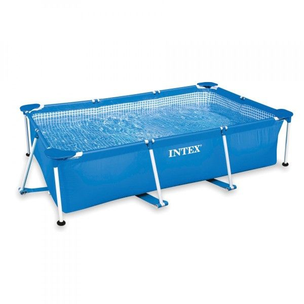 Piscine tubulaire rectangulaire Metal Frame Junior L 2,60 m x l 1,60 m x H 0,65 m - Intex