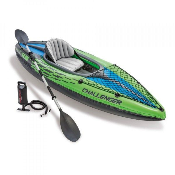 Kayak gonflable Challenger K1 1 place - Intex